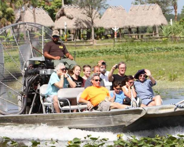 Indian Reservation Airboat Tours